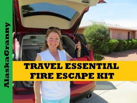 Travel Essential- Fire Escape Kit