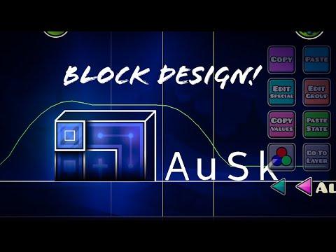 Glow Style Block Design Tutorial! (Geometry Dash 2.1) Tutorials #2