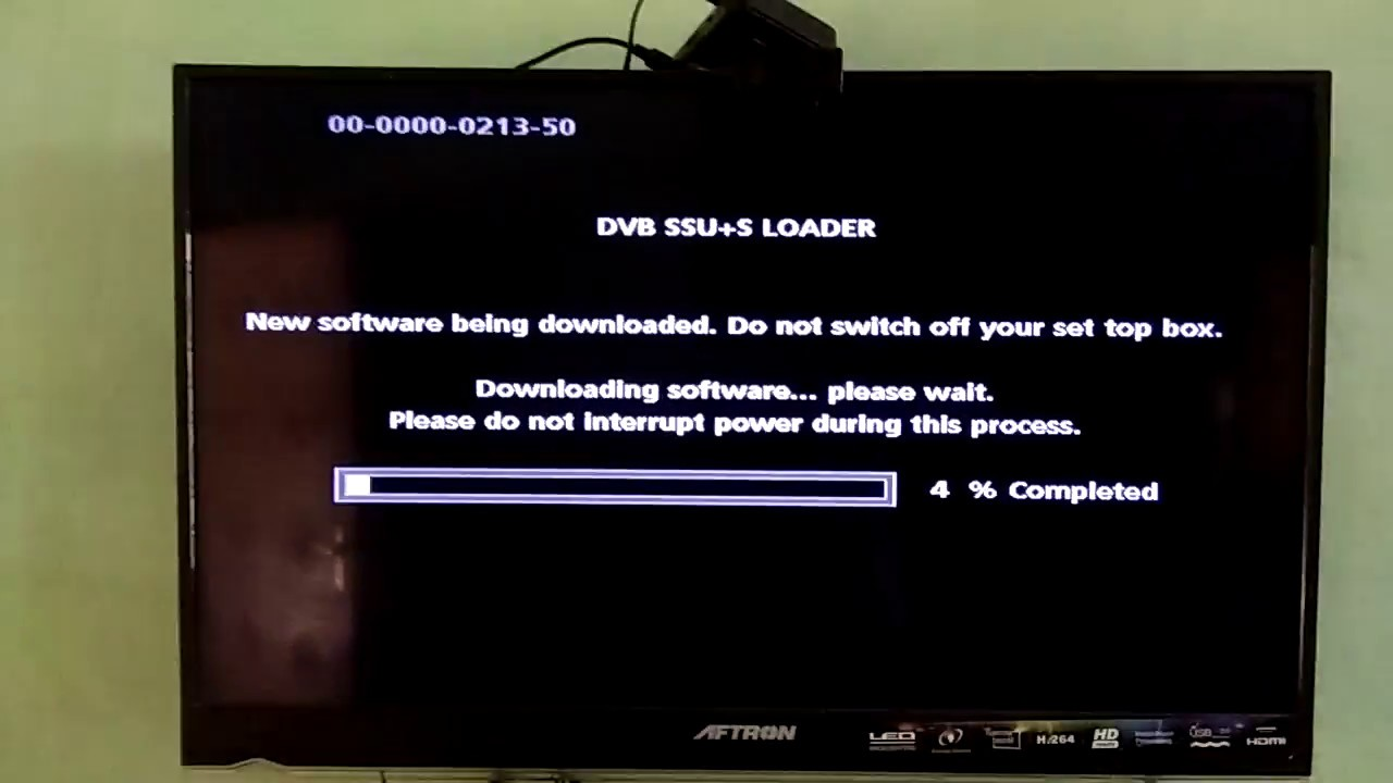 AIRTEL DTH RECIEVER HOW TO INSTALL NEW SOFTWARE