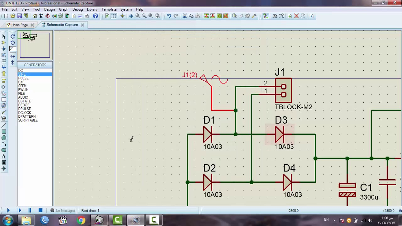 Automatic Battery Charger Circuit 12 In Proteus Diagram On Volt Usb