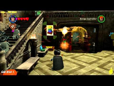 Lego Harry Potter Years 1 4 Lobby And Lobby Hallway Free Roam