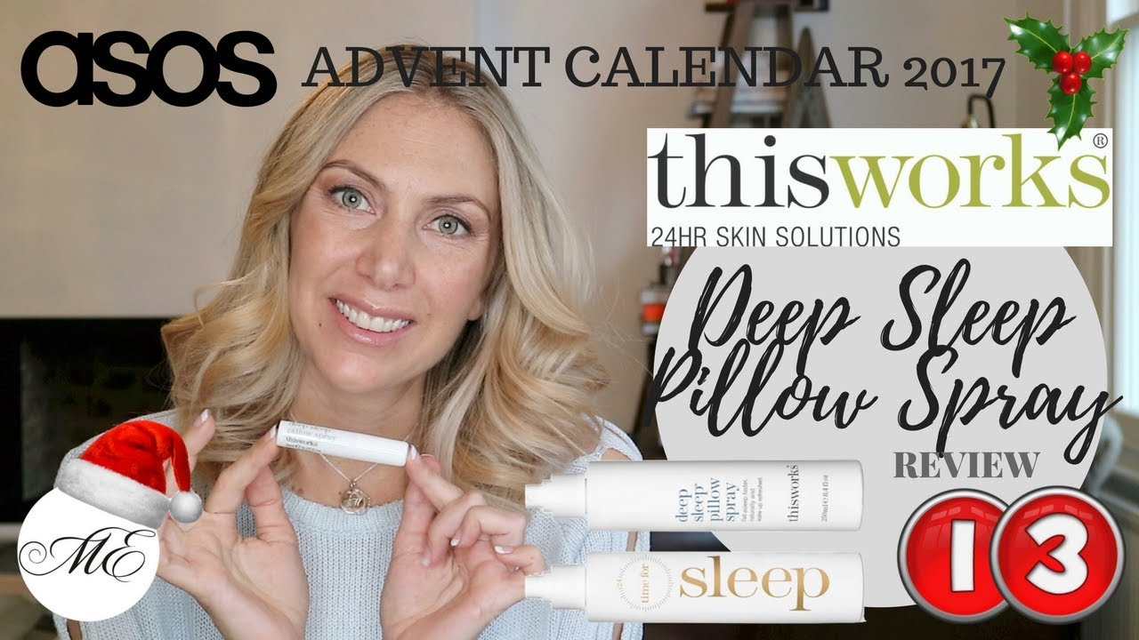 this works deep sleep pillow spray review asos beauty calendar 2017 me by melanie eggers