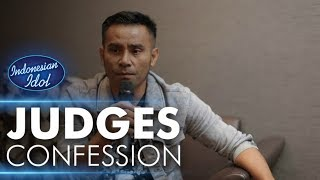 Judika - Judges Confession - Indonesian Idol 2018