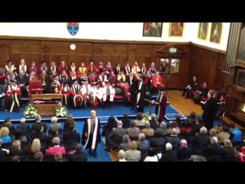 PhD Graduation Ceremony Lima Neto Newcastle University 2012