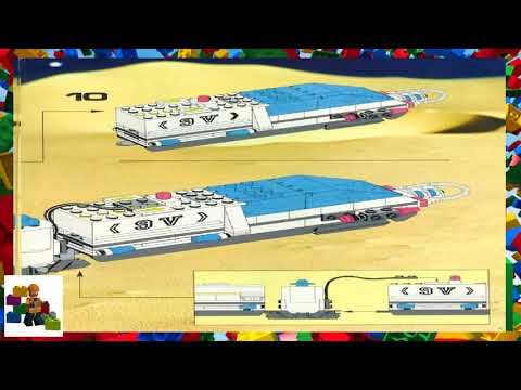 LEGO instructions - Space - Futuron - 6990 - Monorail Transport System