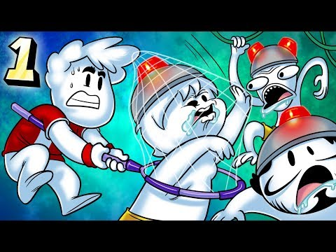Oney Plays Ape Escape WITH FRIENDS - EP 1 - No Eyelids