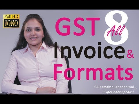 Exclusive | GST | Invoices & Vouchers | 8 Different Formats | Demo