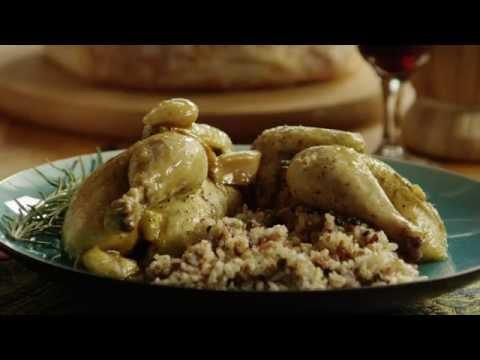 How to Make Cornish Game Hens with Garlic and Rosemary | Dinner Recipe | Allrecipes.com