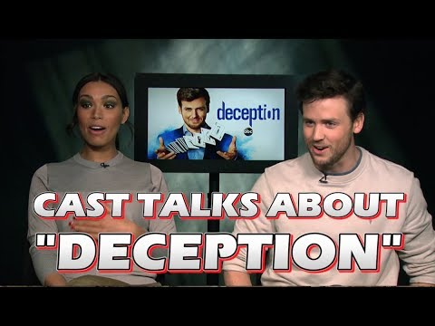 ABC's Deception - Jack Cutmore-Scott and Ilfenesh Hadera Interview