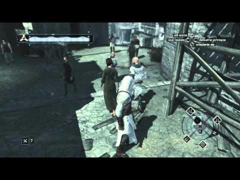 """Assassin's Creed odcinek-46 Blok pamięci nr.5 [2/4] Akka """"Unik w ścianę""""(gameplay)"""