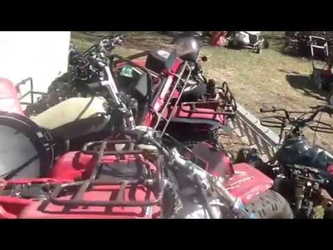 Patching a torn ATV carb Vacuum diaphragm
