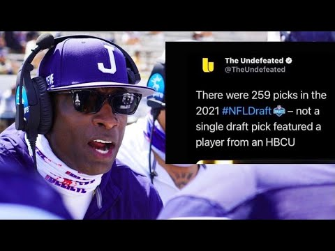 Why is the NFL is punishing kids for going to to HBCU'a. Call in 209-362-4628