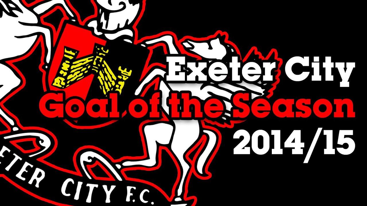 Exeter City Football Club Goal of the Season 2014/15 - YouTube