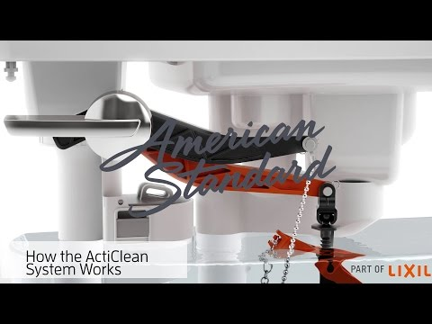 How The ActiClean Self-Cleaning Toilet Works – American Standard