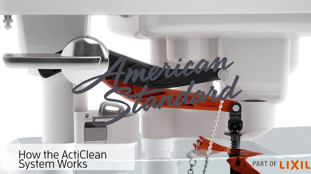 How The Acticlean Self Cleaning Toilet Works American