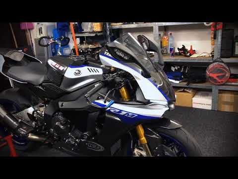 download Yamaha YZF R1M 2018 Timelapse