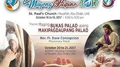 Misyong Pilipino 2017 - Day 3 October 18, 2017 - Fr. Dave Concepcion