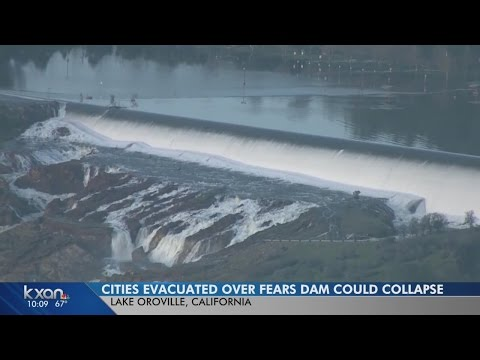 Thousands evacuate as officials eye California dam spillway