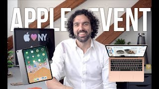 MacBook Air, iPad Pro, Mac mini a iOS 12.1 - Apple novinky tohoto týdne!