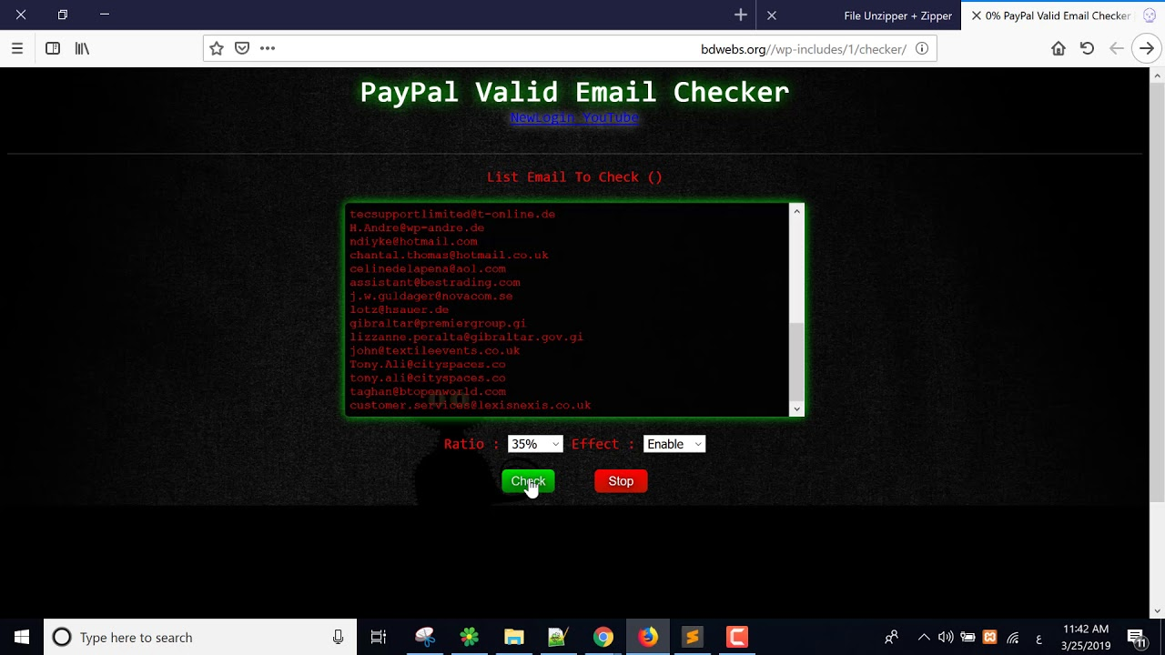 PayPal Valid Email Checker 2019 with 100% Proof || How to Check Valid  Paypal Email
