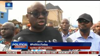 I Would've Burnt My PDP Card, Party Flag If Sheriff Won - Fayose