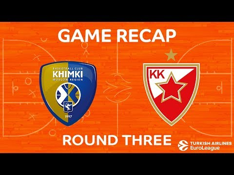 Highlights: Khimki Moscow region - Crvena Zvezda mts Belgrade