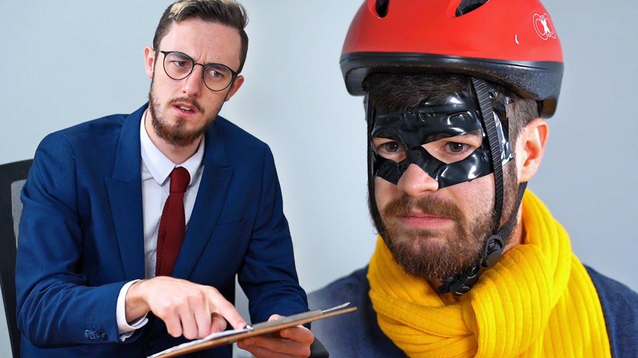 Captain Falcon Job Interview