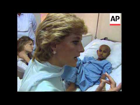 Pakistan: Britain's Princess Diana Visits - 1996
