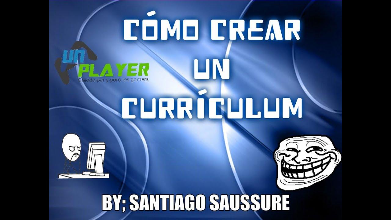 UN Player Cómo crear un currículum [SAMP] - YouTube