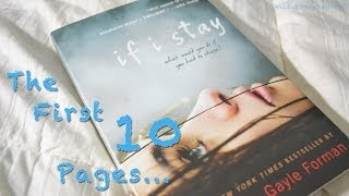The First 10 Pages - If I Stay by Gayle Forman