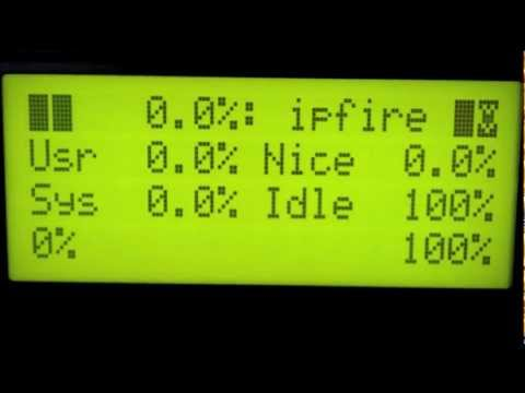 LCDProc on IPFire