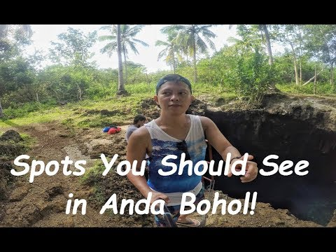 EXPLORING ANDA  - THE MAJESTIC SIDE OF THE PROVINCE OF BOHOL, PHILIPPINES