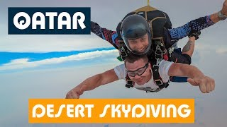 СЛАБО ПРЫГНУТЬ с 4000 метров? / Прыжок с парашютом в Катаре