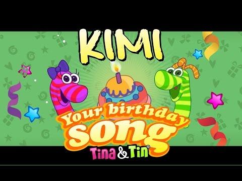 Tina&Tin Happy Birthday KIMI