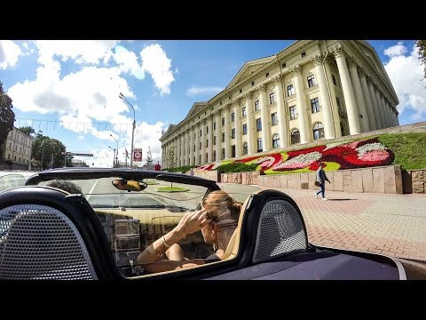 Porsche Boxster POV Drive in Minsk, Belarus - Full City Tour