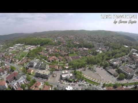 Aerial Photography: Vrnjačka Banja - Snimak iz vazduha Full HD 1080p