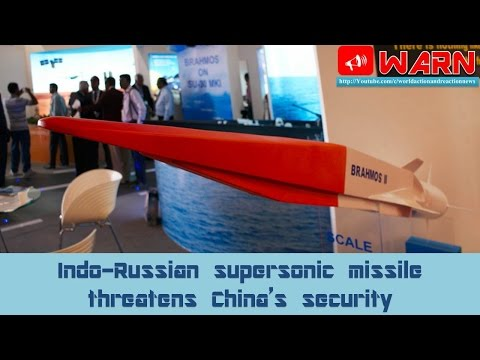Indo-Russian supersonic missile threatens China's security