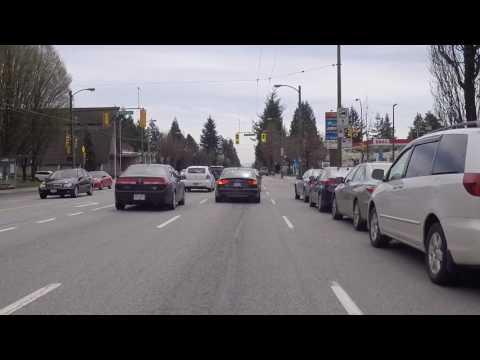 Discover VANCOUVER BC Canada - OAK Street Condominiums/Condos - Driving in the City 2017