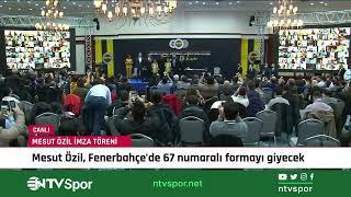 CANLI - Mesut Özil imza töreni