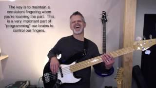 My Redeemer Lives - bass tutorial
