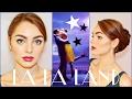 Emma Stone (Mia) in La La Land Makeup & Hair Tutorial💜👗