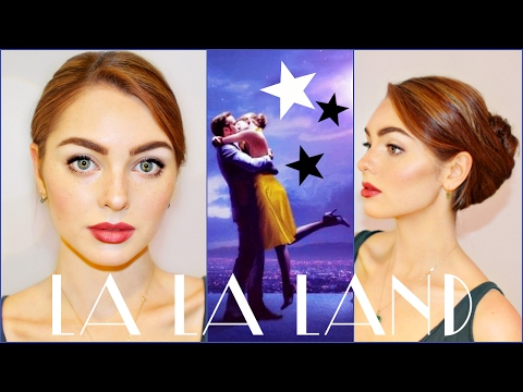 Emma Stone in La La Land Makeup & Hair Tutorial