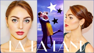Emma Stone (Mia) in La La Land Makeup & Hair Tutorial