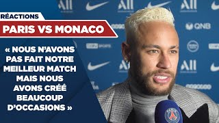 VIDEO: REACTIONS : PARIS SAINT-GERMAIN vs MONACO