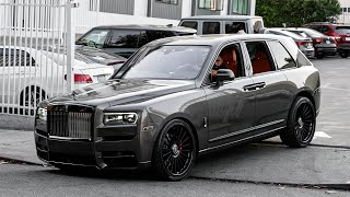 Root Beer Rolls Royce Cullinan Color Change