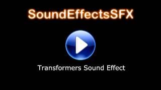 Transformer Sound Effect