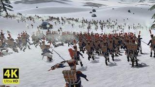 MASSIVE BATTLE OF WATERLOO - Mount & Blades: Napoleonic Wars [4K Gameplay]