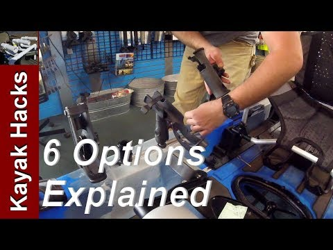 Fishing Kayak Rod Holders - 6 Types Explained Pros/Cons And Installation