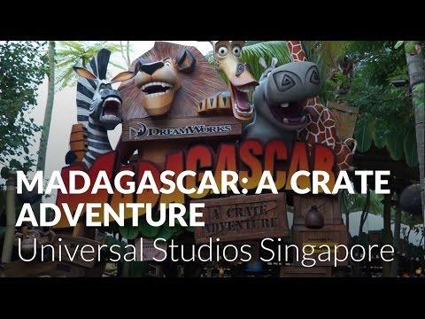 Madagascar: A Crate Adventure at Universal Studios Singapore