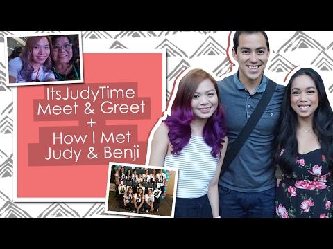 Vlog: ItsJudyTime Meet & Greet + How I Met Judy & Benji | Kye Sees thumbnail